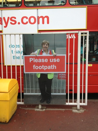Signs at Victoria station (I love these)