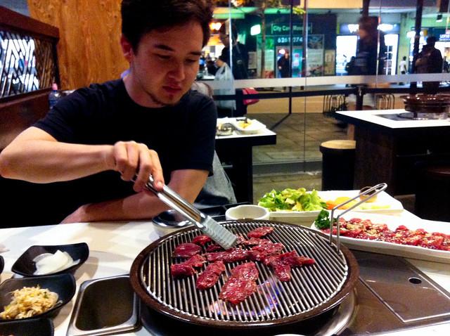 Korean BBQ dinner