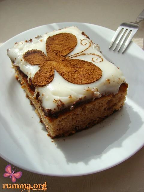 hurmalı kek tarifi