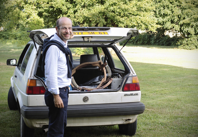 Without a chair in his car, he isn't Thierry...