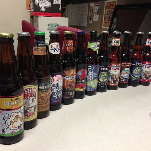 One last local beer haul for all those brews I won't find out in Chicago.