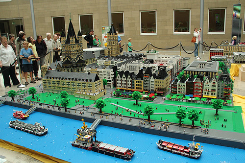 Cologne in Legos