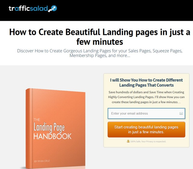 Bonus 4 - Create Beautiful Landing pages in Just a Few Minutes