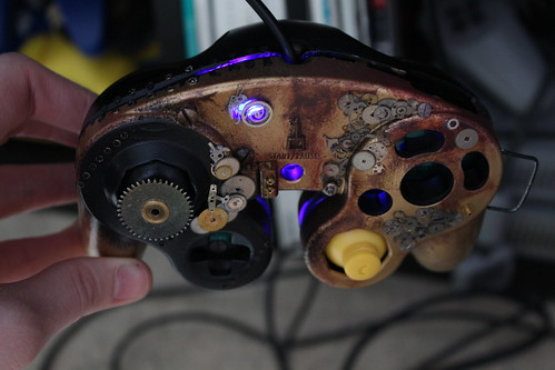 WIP GC controller Survival Horror & Steampunk