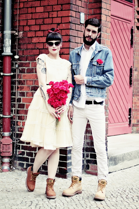 CAT_COLORADO_LOOKBOOK_WEDDING_MARRIAGE_BOY_GIRL_VINTAGE_BOOTS_BEARD_TATTOOS_BERLIN_SHOOT
