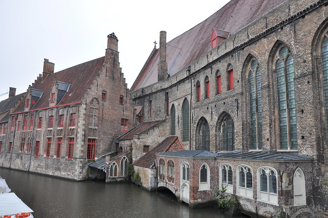 Waterways in Bruges