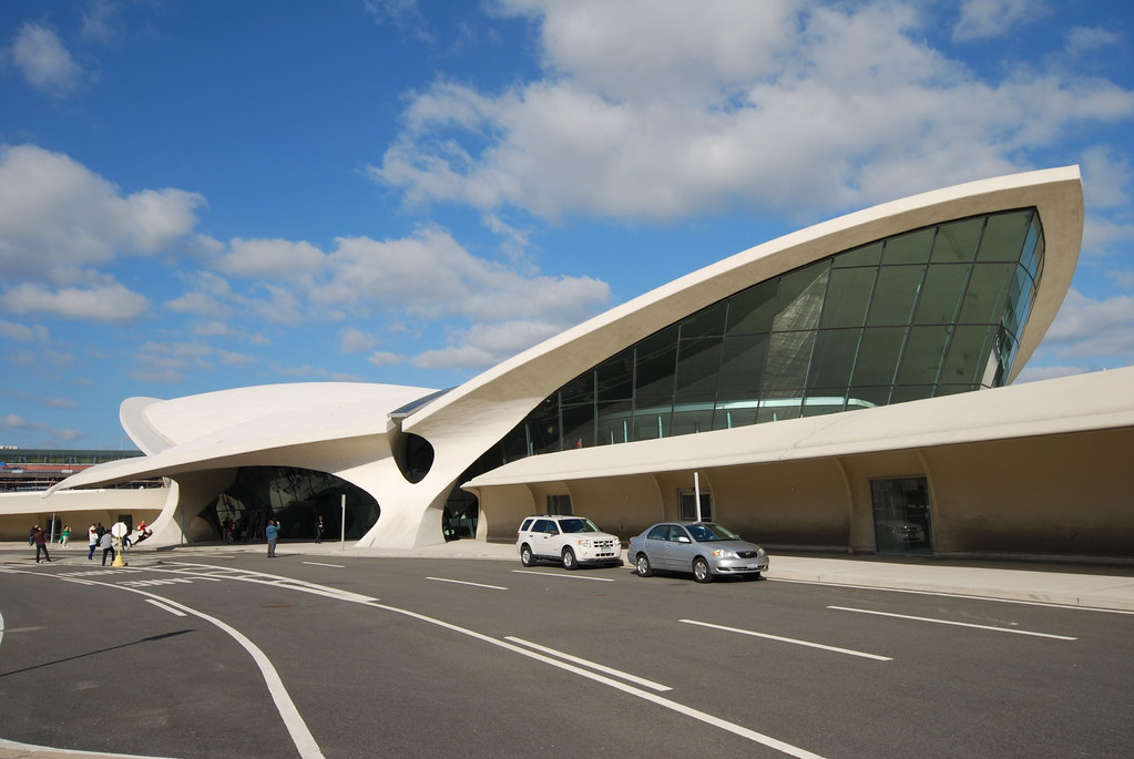 NYC - Queens - JFK Airport - Eero Saarinen - TWA Terminal - Trans World Flight Center