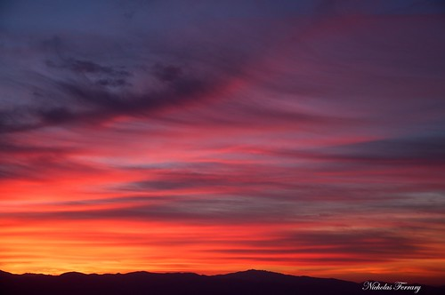 blue sunset red sky sun sunlight nature sunrise landscape nikon gibraltar upperrocknaturereserve d300s nikond300s gibraltarwildlife nicholasferrary