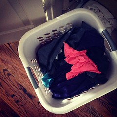 Secret: laundry is one chore I don't hate #fmsphotoaday