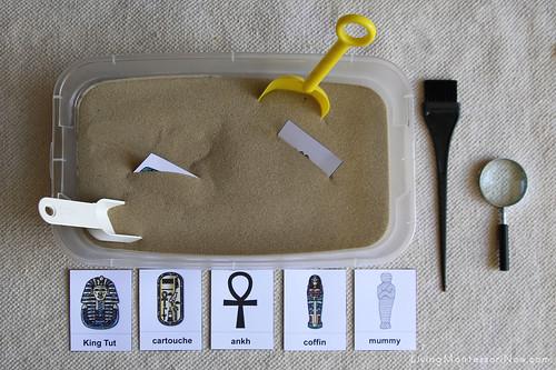 Egypt Sensory Tub Dig