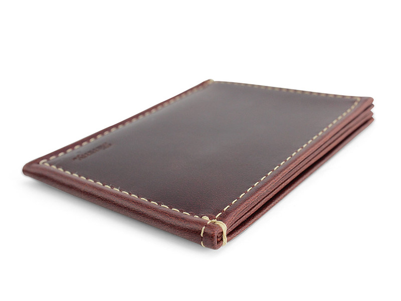 wwSlimmy Oil Tanned Leather Slim International Luxury Wallet