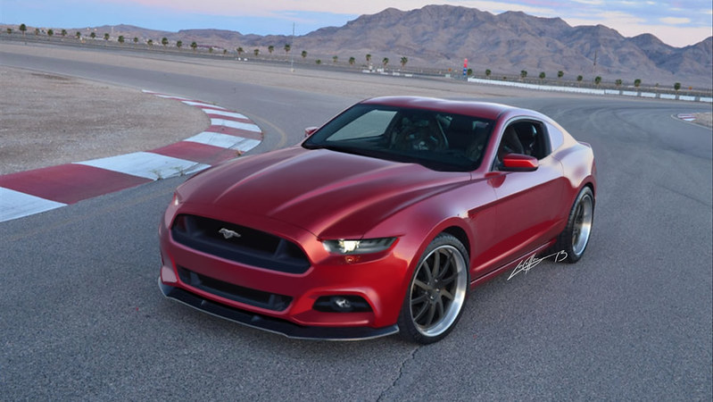 2015 Ford Mustang Rendering