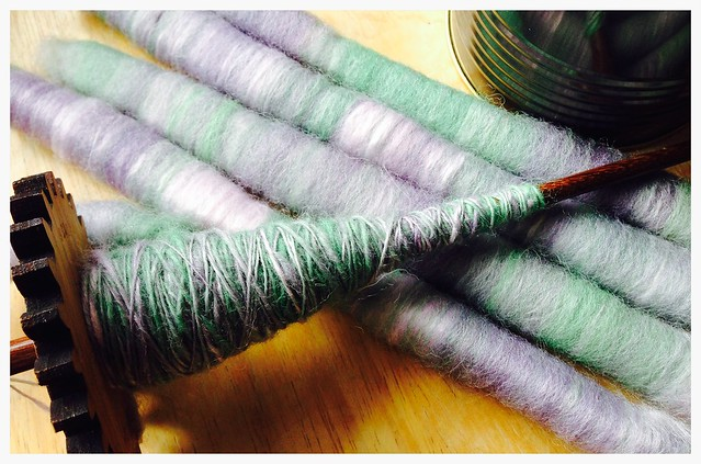 Spinning Show & Tell: more punis.