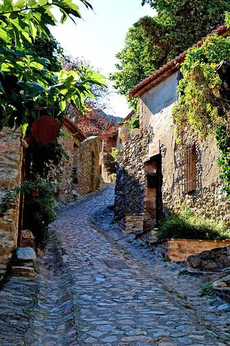 france villages 66 castelnou pyrénéesorientales médiéval