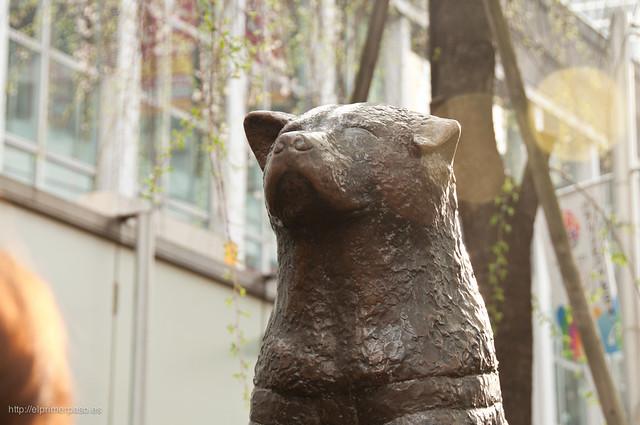 Shibuya - Plaza y estatua de Hachiko