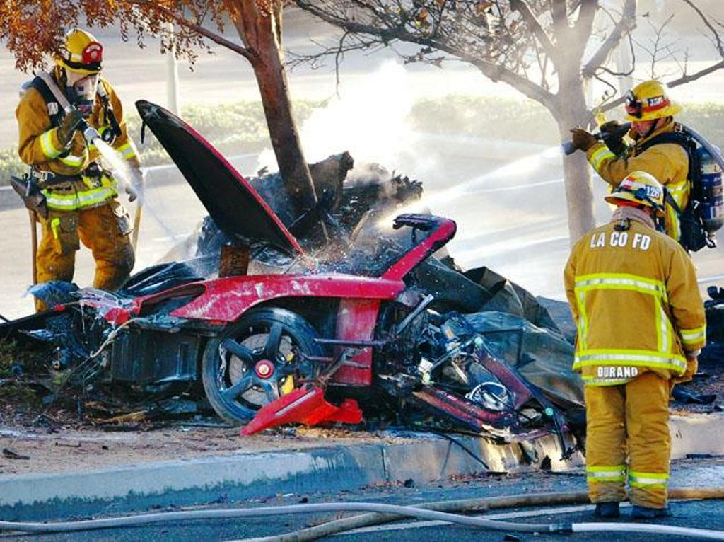 Paul Walker Crash Site