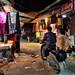 Agra Bazaar at Night by illuminaut