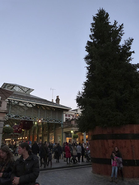 sapin de Covent Garden
