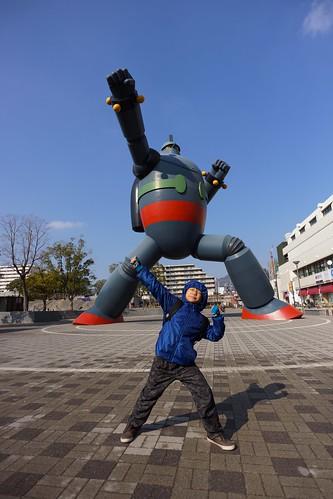 2013神戶(秋) - 鉄人28号 モニュメント (13)