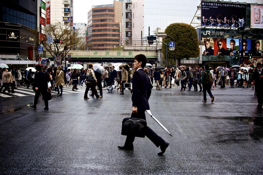 Shibuya station Crossing - Tokyo, Japan
