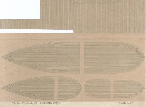 Modelcraft building paper No. 23