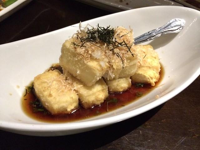 Agedashi tofu - Wasabi Bistro