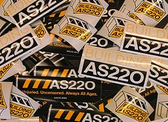 AS220 stickers