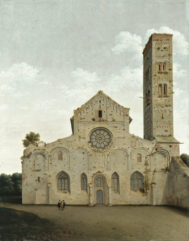 Pieter Saenredam - West Facade of the Church of Saint Mary in Utrecht (1662)
