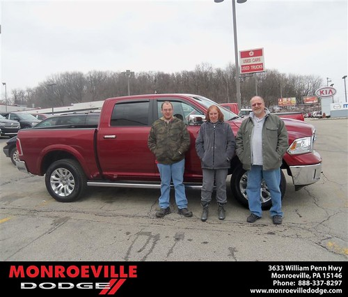Happy Anniversary to Nicholas Krill on your 2013 #Dodge #Ram from Lennie Corbett  and everyone at Monroeville Dodge! #Anniversary by Monroeville Dodge
