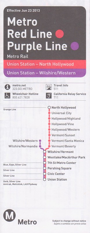 Metro 2013 Red Purple Lines