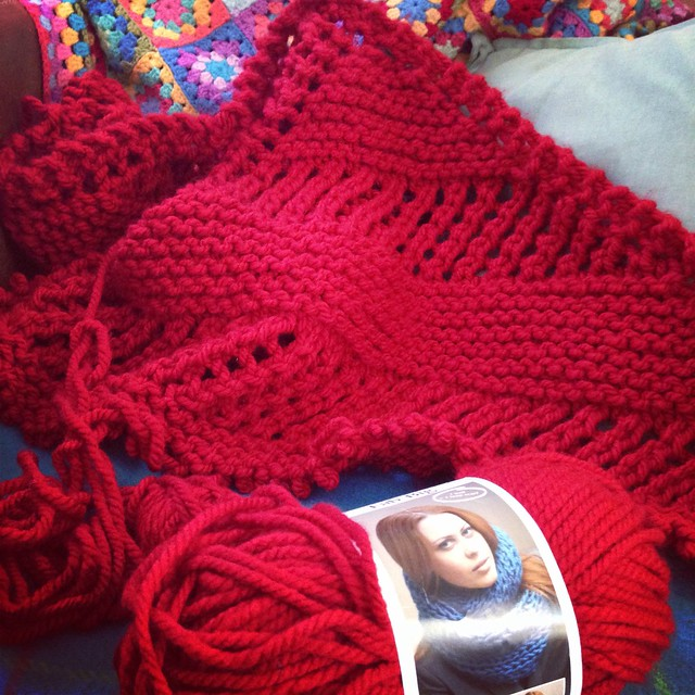 Unraveling the Unravel shawl (v1)