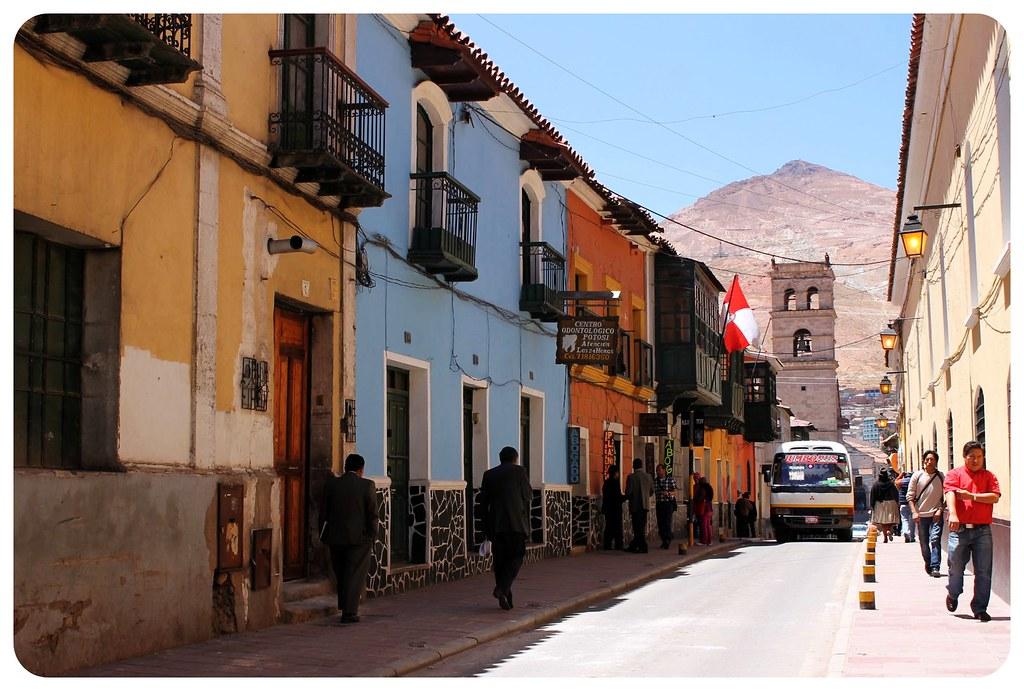 potosi colorful houses bolivia