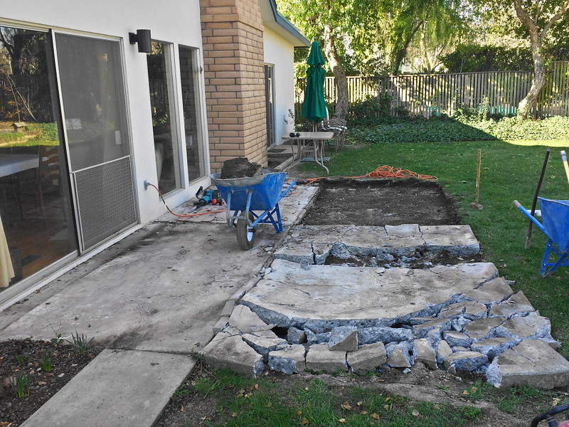Perfect Concrete Patio Demolition U0026 Removal In Davis