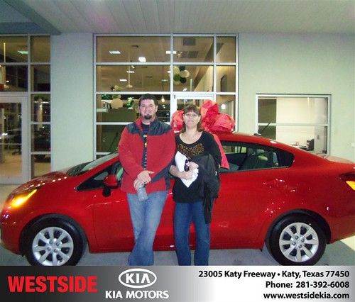 Happy Anniversary to Jeremy William Warren on your 2013 #Kia #Rio from Gilbert Guzman  and everyone at Westside Kia! #Anniversary by Westside KIA