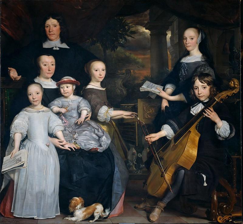 Abraham Lambertsz van den Tempel - Family Portrait (XVII Century)