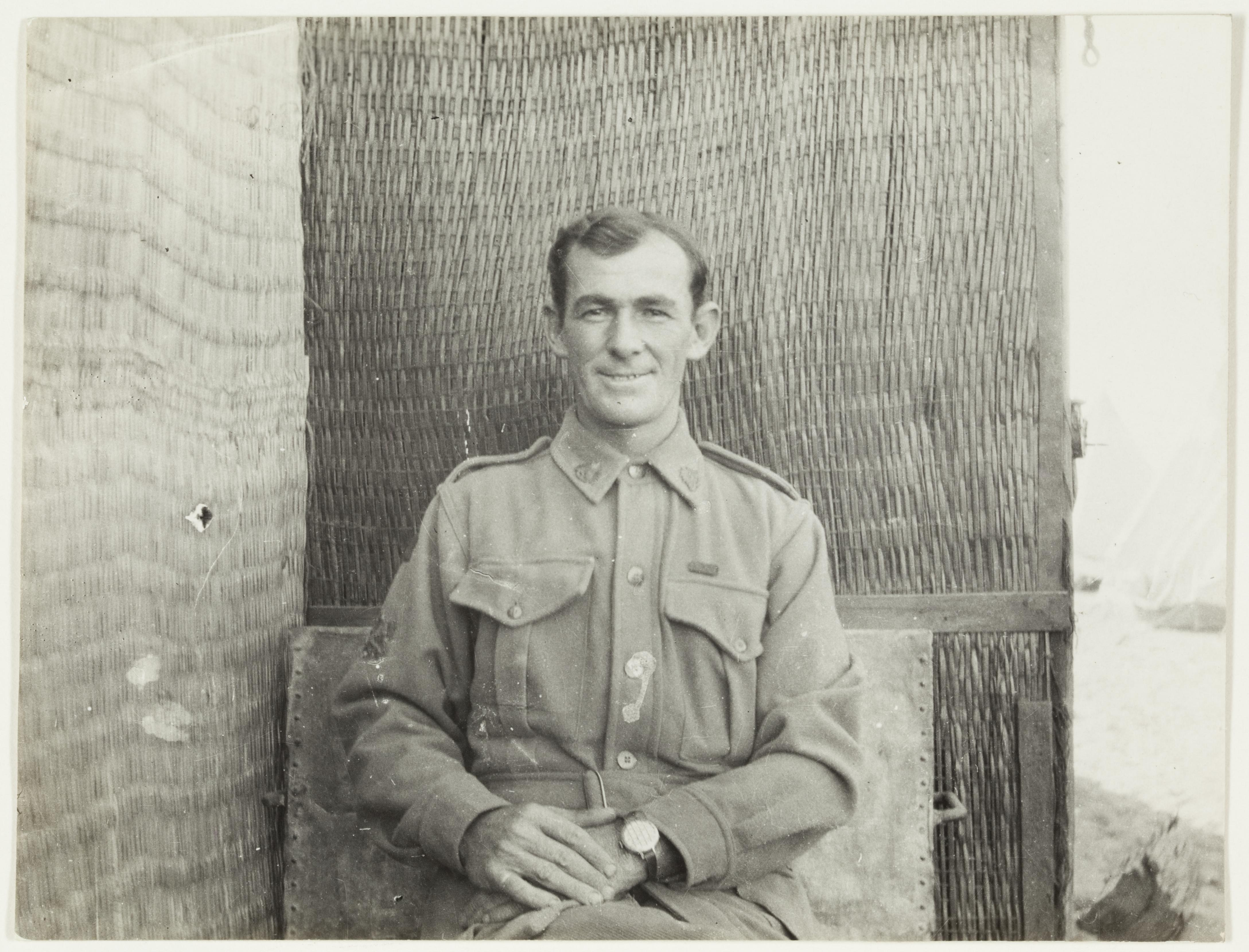 Trumpeter Smith  by J.F. Smith of the 7th Light Horse in Egypt and Palestine, c. 1914-1918