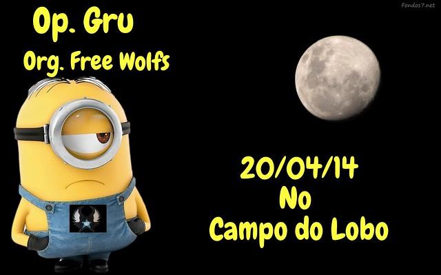 20/04/14 Op. Gru, Org. Free Wolfs no Campo do Lobo 13493772514_8e69e4da54_z