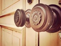 I spy two giant #doorknobs