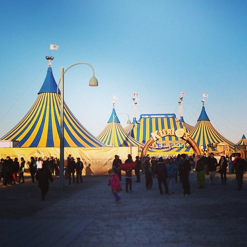 Cirque du Soleil in Montreal. #kurios Awesome show!
