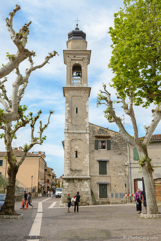 Church Tower in Bardolino