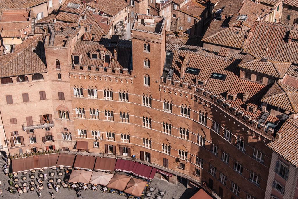 Blick vom Palazzo Pubblico