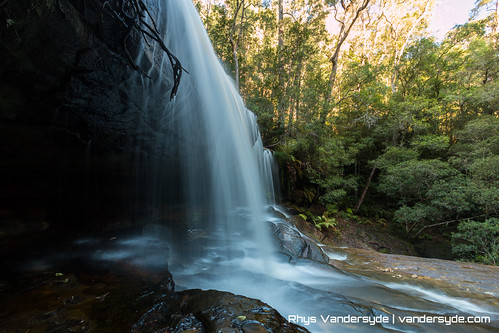 Somersby Falls on the NSW Central Coast