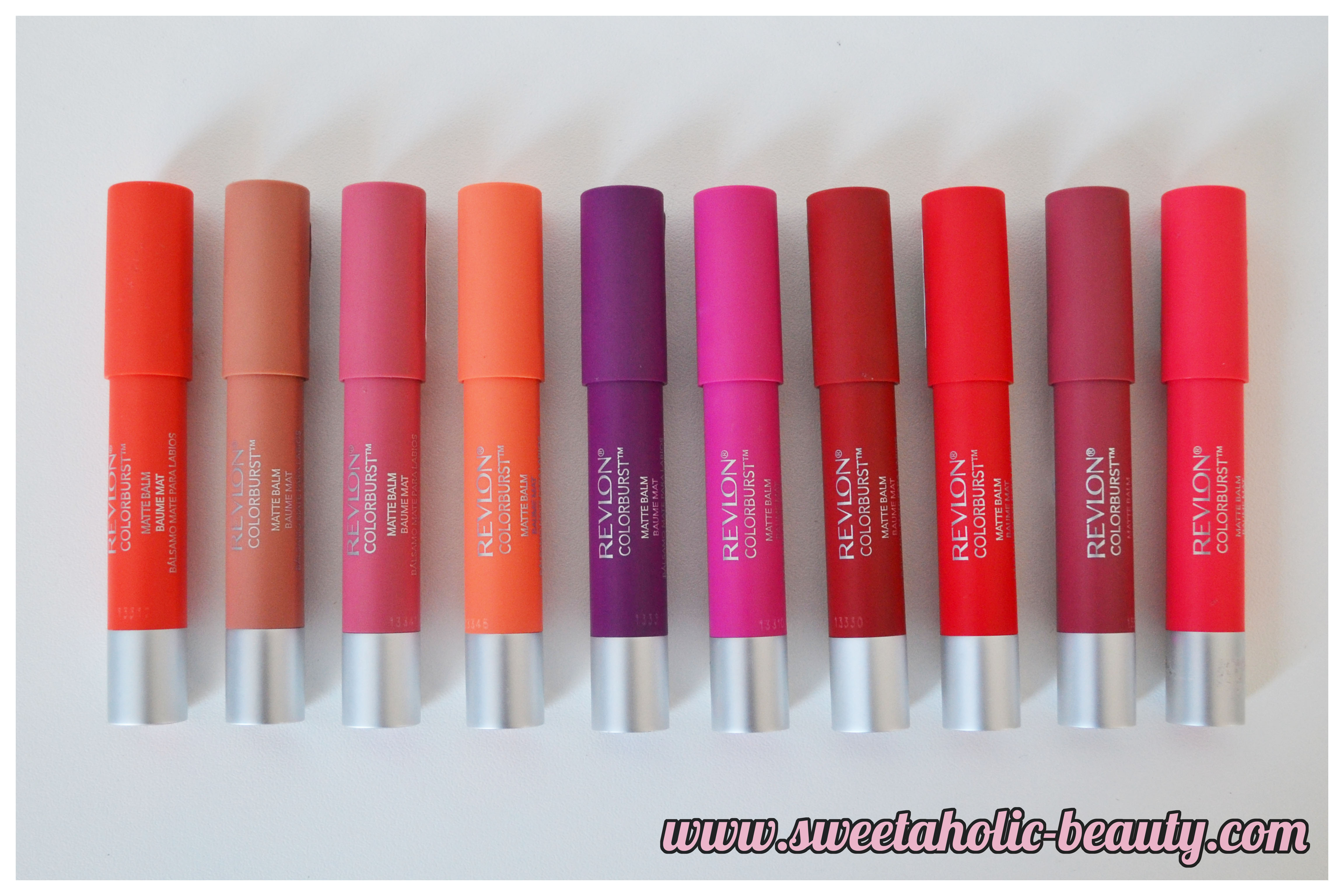 Revlon Colorburst Matte Balms Review & Swatches - Sweetaholic Beauty