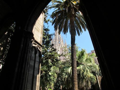 Kathedrale Barcelona Kreuzgang