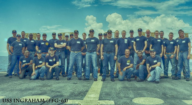 USS Ingraham Crew Stands United Against Sexual Assault