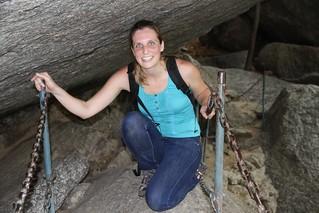Lisa Vitaris in DPRK Mt Myohyang