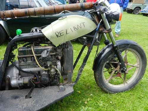 Reliant Trike. Wallingford Vehicle Rally 2014.