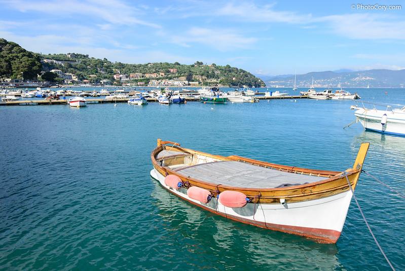 Boat in Porto Venere