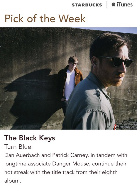 Starbucks iTunes Pick of the Week - The Black Keys - Turn Blue