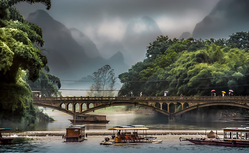 China - On the River Li